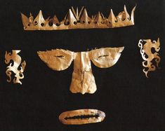 Funerary Facial Ornament, Butuan, 10th to 13th century, Ramon N. Villegas collection.