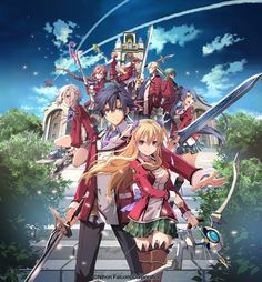 Check out the entire cast for The Legend of Heroes: Trails of Cold Steel Musical: It looks like we're in for a good week of… (via Japanator) Cute Anime Pics, Anime Love, Trails Of Cold Steel, Character Art, Character Design, The Legend Of Heroes, Anime Episodes, Mecha Anime, Cartoon Tv