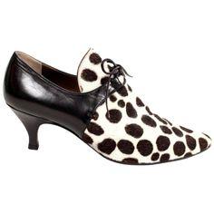 d88dfb73ff2 Yves Saint Laurent Pony Fur Leather Heels 1990S Shoes