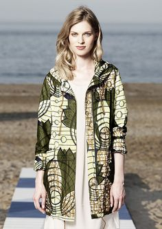 Vlisco x WoolRich SS15 #ankara #fashion
