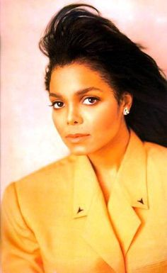Janet..this pic almost looks like a morph of her & Michael O.o