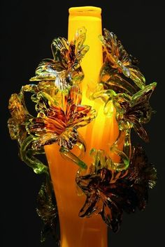 Dale Chihuly Art GlassVase.
