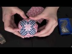 How To: Quilted Christmas Ornament - Part 2