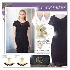 """""""Lace Dress - Girl Intuitive 6"""" by anyasdesigns ❤ liked on Polyvore featuring Jimmy Choo and WALL"""