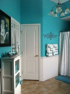 Find This Pin And More On Ideas For My Single Pad Tiffany Blue Bathroom Really