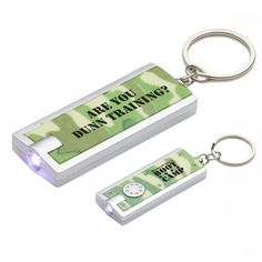 Custom simple touch LED Key chain in camouflage is very popular with marketers around USA due to its encouraging color profile and offers multiple benefits on one time investment.    #CustomFlashlightKeychains  #BusinessPromotion