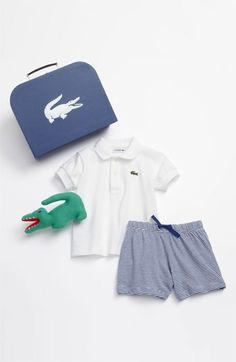 Lacoste Polo & Shorts (Infant) available at Nordstrom