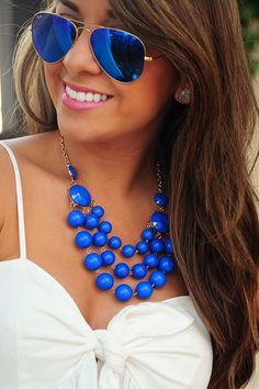 Traga mais azul para seu dia a dia! ♥ #blue #azul #rayban #espelhado #oculosazul…
