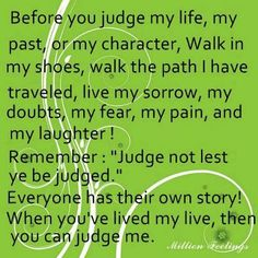 My Story: Only God Will be my Judge