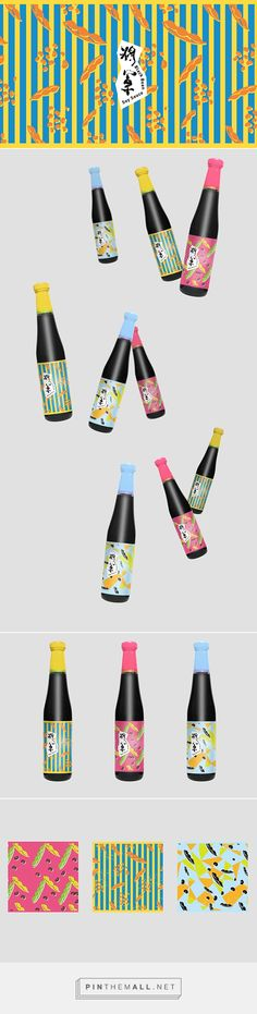 general soy sauce by Cheng Jie Sung| 將軍醬油 on Behance curated by Packaging Diva PD. I want : ) created via https://www.behance.net/gallery/23988943/general-soy-sauce-?
