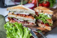 A Food, Food And Drink, Fika, Bread Recipes, Bacon, Sandwiches, Toast, Yummy Food, Lunch