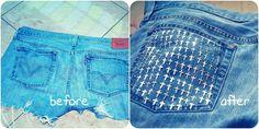 D.I.Y. Shorts!(:<3