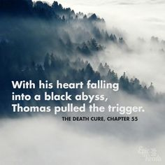 The Death Cure quote   Incredibly Sad Quotes That Will Give You Feelings