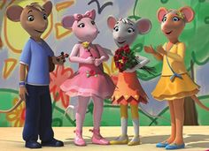 Angelina receives a yellow rose after a lunch time performance at her new school, Camembert Old Kids Shows, 2000s Kids Shows, Old Shows, Right In The Childhood, Childhood Tv Shows, Childhood Movies, Old Cartoon Shows, Desenhos Cartoon Network, Old Cartoons