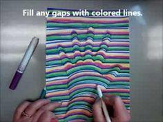 Op Art HAND How To Video - YouTube