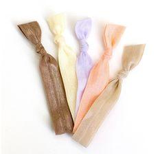 Solid Color Hair Ties