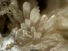 Horváthite-(Y). NaY(CO3)F2 , Poudrette quarry (Demix quarry; Uni-Mix quarry; Desourdy quarry), Mont Saint-Hilaire, Rouville Co., Québec, Canada Taille=5 mm Copyright Stephan Wolfsried