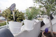 Deko-Ideen im Herbst für einen kleinen Balkon
