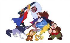 Disney by on DeviantArt Disney And Dreamworks, Disney Pixar, Disney Characters, Fictional Characters, Walt Disney, Beauty And The Best, Disney Beauty And The Beast, Disney Princes, Disney Belle