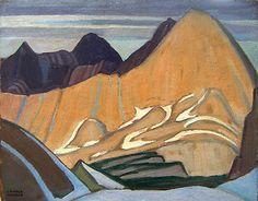 Lawren Harris, 'Colin Range' at Mayberry Fine Art 10.5 x 13.75 (1924)