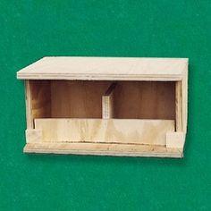 Nest plywood for doves