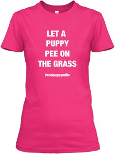 Let A Puppy PEE On The Grass