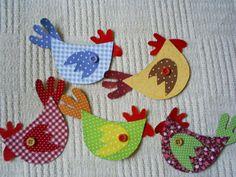 galinhas coloridas | por Armazém das Artes - Gelza Wink
