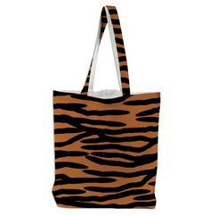 #tiger skin patterned tote #bag