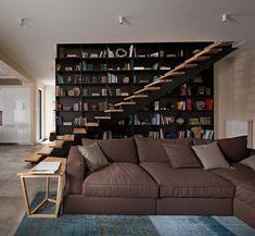 #Interior Design Haus 2018 Innentreppen Und Kreative Ideen, Um  Buchhandlungen Zu Integrieren #Modell
