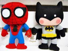 Super héroes!