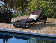 Escape Sunbed Lounge by Rikke Frost for Cane-line   Huset