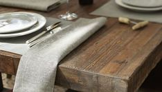 Ideas Reclaimed Wood Dining Chairs & Table