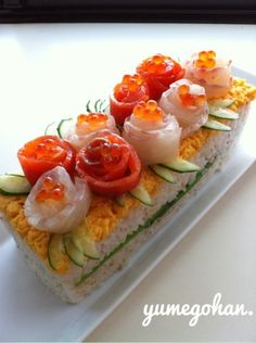 誕生日や記念日に♡豪華で華やかな「#寿司ケーキ」が大人気 - Locari(ロカリ)
