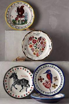 「アンソロポロジー 皿」の画像検索結果