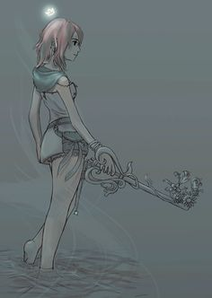 Kairi—Personally, I think she's awesome. I really want to see her get to fight and kick some butt in KH3! :)
