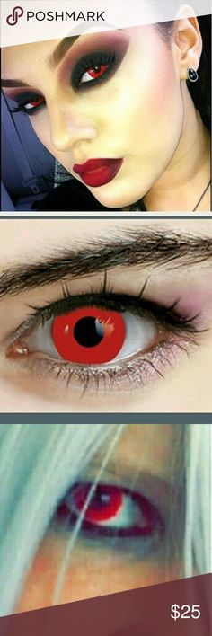 RED Non Perscription Contact Lenses Get the 'Redeye' look with these Non Perscription colored contact lenses. Great for dress up. 100% Soft contact lens Phemfilcom 42% Eye Dream Accessories Glasses