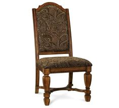 Buy Marbella Upholstered Back Side Chair by ART from www.mmfurniture.com. Sku: 44206