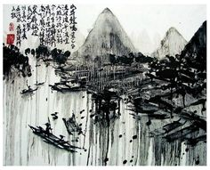 chinese landscape painting - Google Search