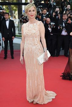 Michele Laroque au Festival de Cannes