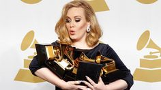 Adele is unbelievably talented...she deserves every single one of those grammys!