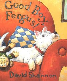 """Meet Fergus, the canine star of the book from Caldecott Honor artist David Shannon. Much like Shannon's beloved characters, David and Alice, the adorable Fergus is always getting in trouble!    Follow Fergus as he experiences the perfect doggy day--well, except for his bath, of course! From chasing cats and motorcycles to being scratched on his favorite """"tickle spot,"""" David Shannon's newest sweet and silly character will inspire young readers to laugh out loud at his mischievous antics..."""