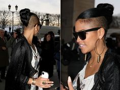 cassie hairstyles with one side cut off - Google Search