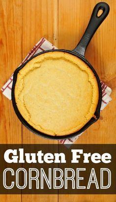 Gluten Free Cornbread  http://healthpositiveinfo.com/gluten-free-cornbread.html 