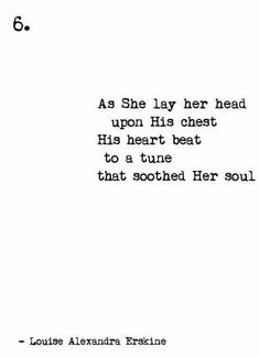 soothed her soul