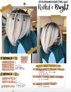 Redken Toner, Redken Hair Color, Balayage Hair Tutorial, Hair Stations, Redken Hair Products, Redken Shades, Hair Color Formulas, Colored Hair Tips, Hair Color Techniques
