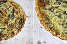 Whole Promise: A Spinach Pie with A Brown Rice Crust