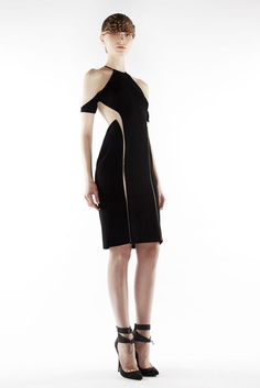 Dion Lee Fall/Winter 2012 collection.