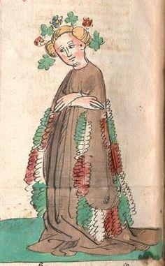 Historienbibel. Marienleben Hagenau/Elsass, 2. Viertel 15. Jh. Cgm 1101  Folio 373