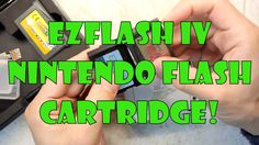 EZ Flash IV Gameboy Advance SP NDS Flash Cartridge Yeah all your Nintendo GBA and NDS carts on a single cart! No more carrying around your precious #retro games! http://youtu.be/ULoN68Pwxho