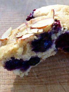 lemon blueberry muffins ~vegan & gluten-free~ - Begin Within Nutrition Dairy Free Muffins, Gluten Free Blueberry Muffins, Vegan Muffins, Vegan Blueberry, Blue Berry Muffins, Blueberries Muffins, Blueberry Cupcakes, Gluten Free Desserts, Vegan Desserts